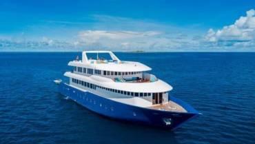 Vida a bordo Maldivas en barco de lujo